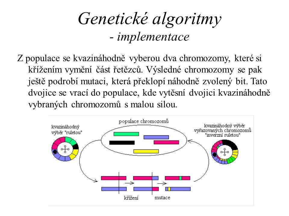 Genetické algoritmy - implementace