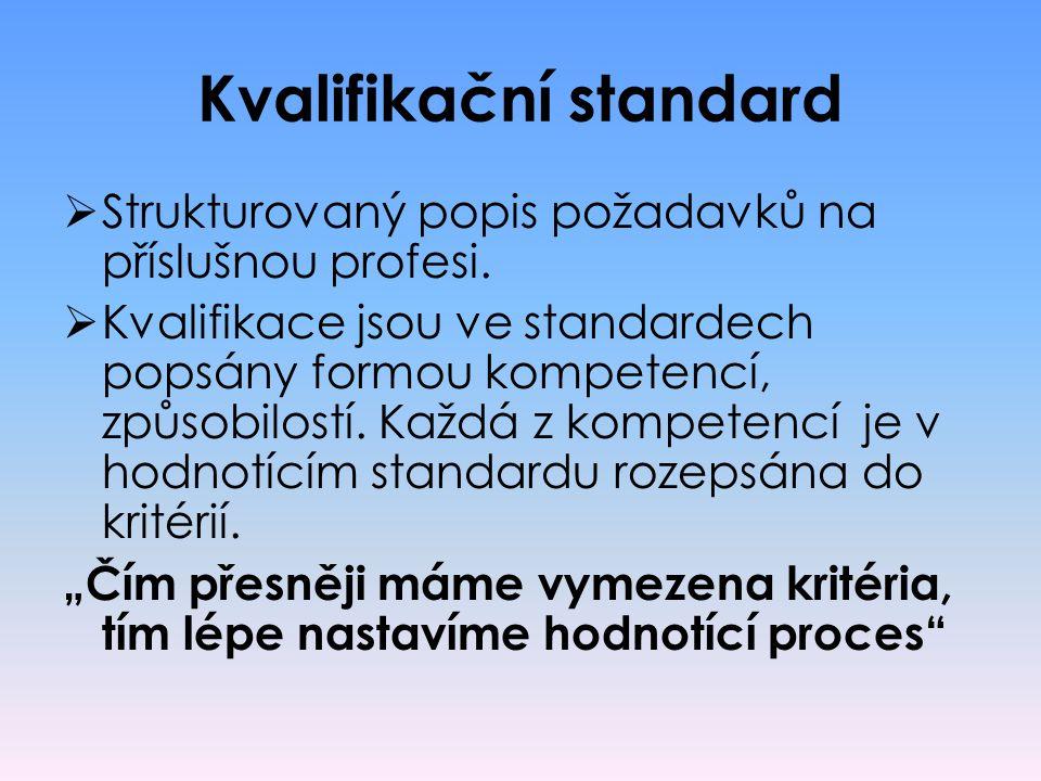 Kvalifikační standard