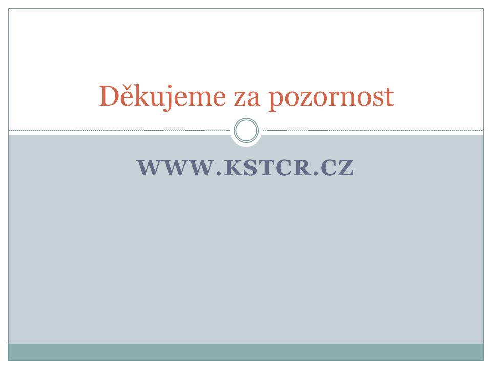 Děkujeme za pozornost www.kstcr.cz