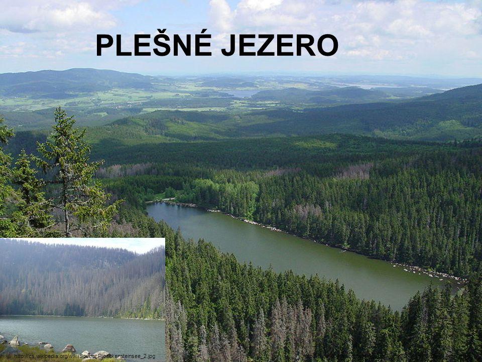 PLEŠNÉ JEZERO http://cs.wikipedia.org/wiki/Soubor:Ploeckensteinsee_2.jpg.