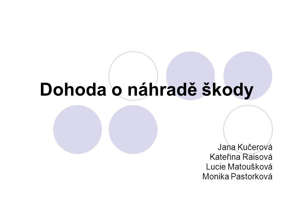 Jana Kučerová Kateřina Raisová Lucie Matoušková Monika Pastorková