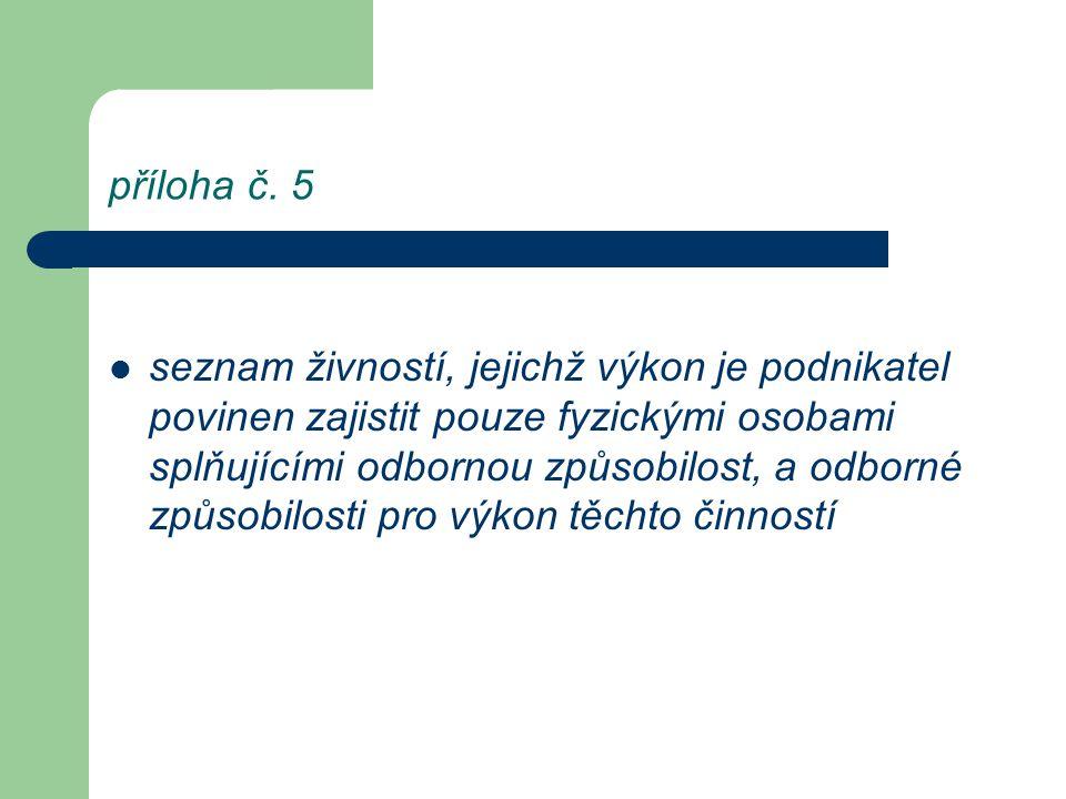 příloha č. 5