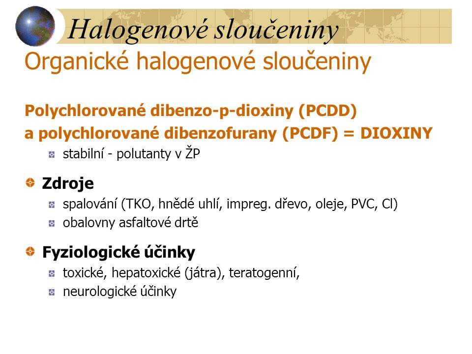 Halogenové sloučeniny