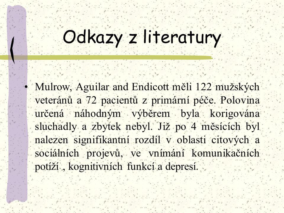 Odkazy z literatury