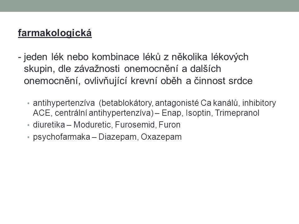 farmakologická