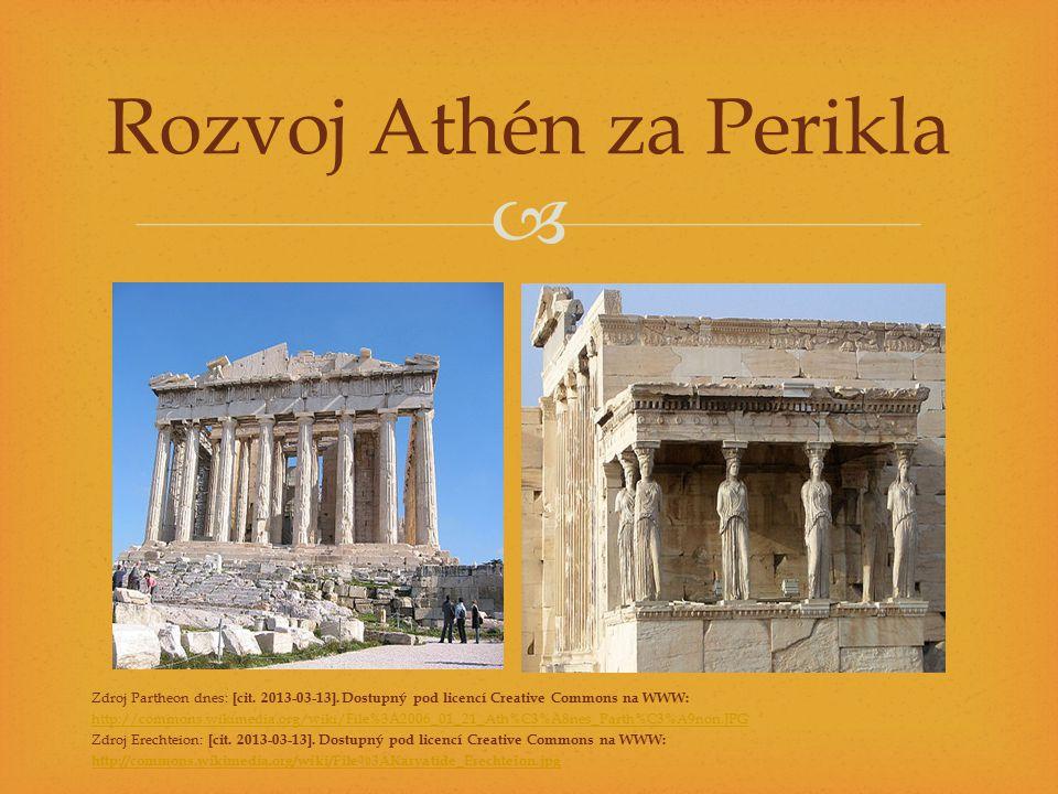 Rozvoj Athén za Perikla