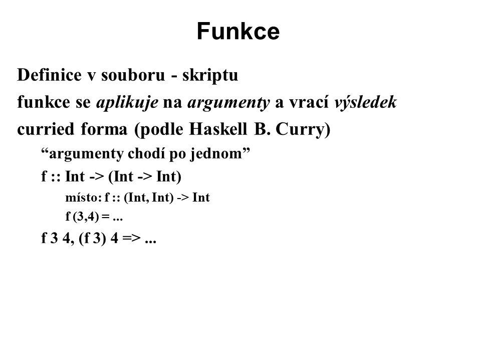 Funkce Definice v souboru - skriptu