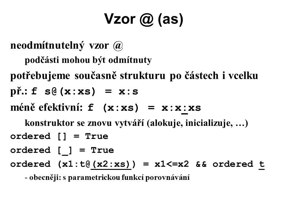 Vzor @ (as) neodmítnutelný vzor @