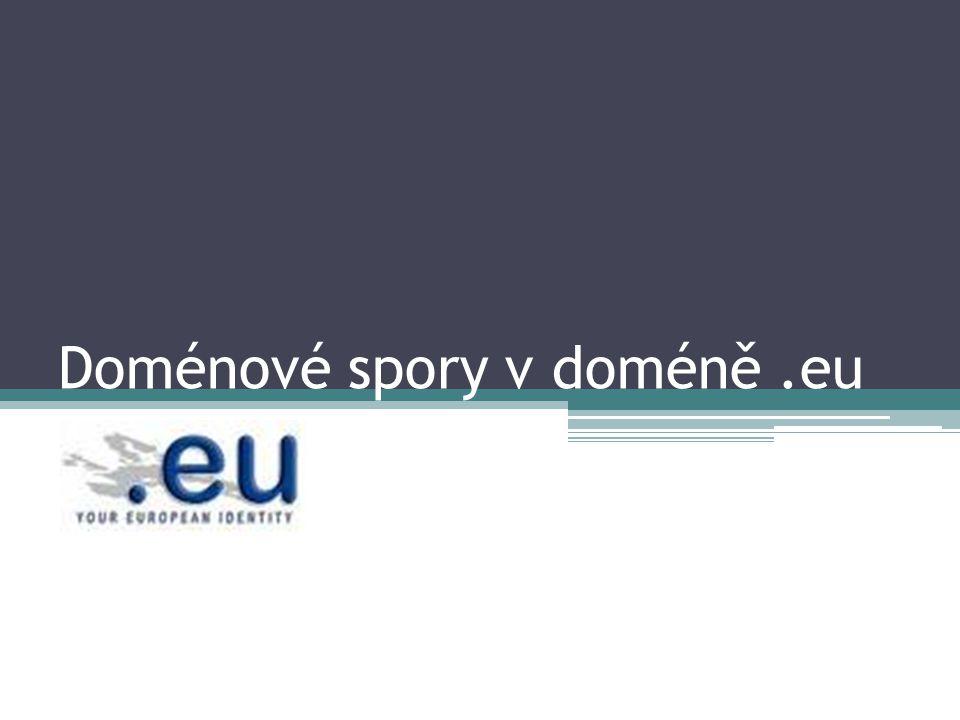 Doménové spory v doméně .eu