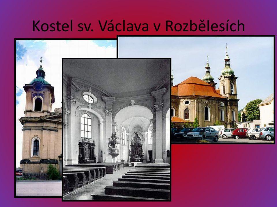 Kostel sv. Václava v Rozbělesích