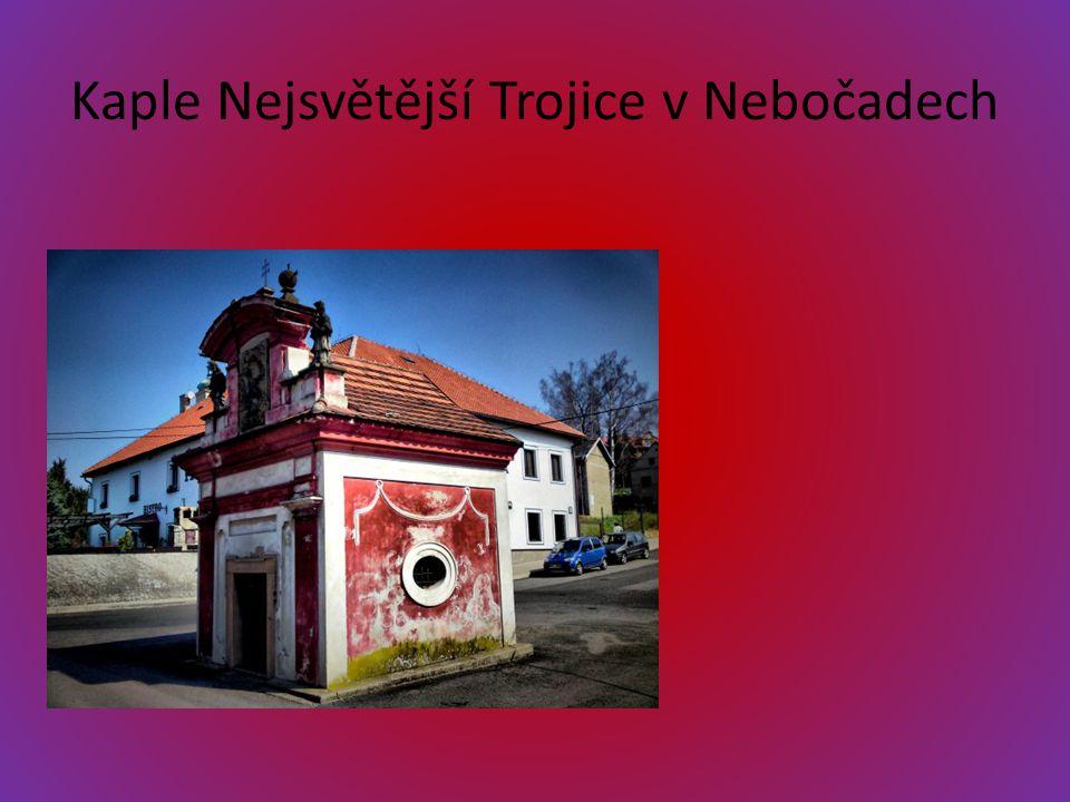 Kaple Nejsvětější Trojice v Nebočadech