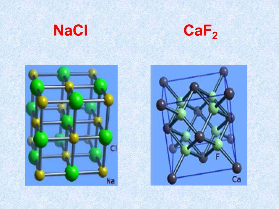 NaCl CaF2