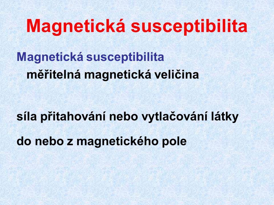 Magnetická susceptibilita