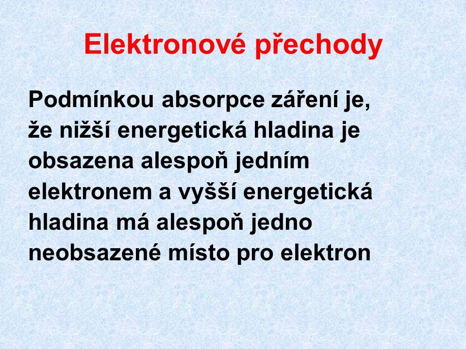Elektronové přechody