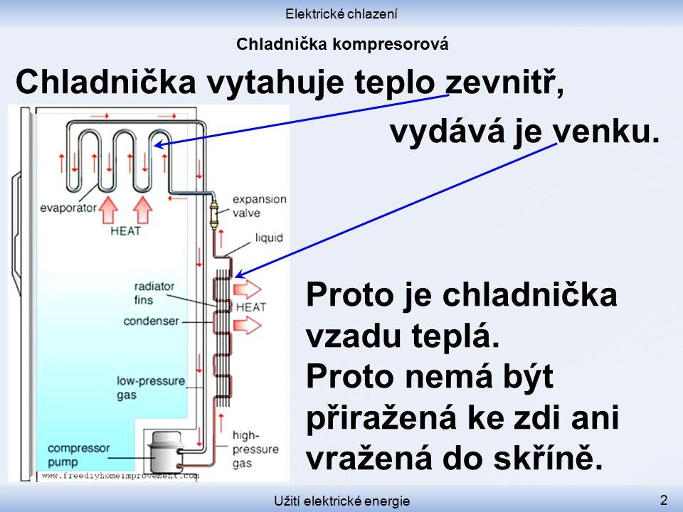 Chladnička kompresorová