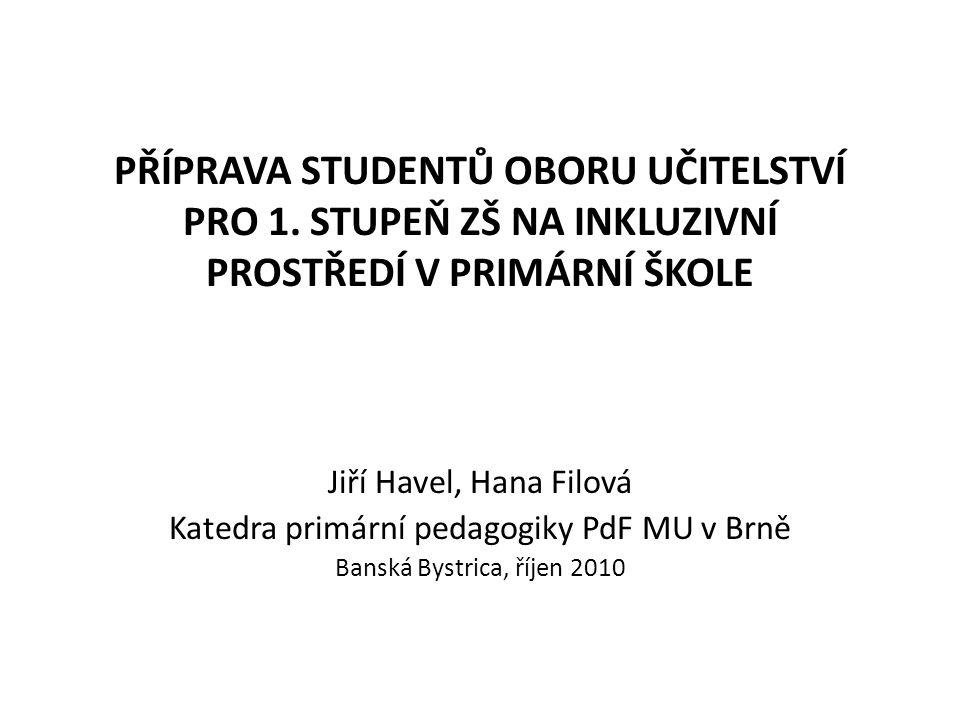 Katedra primární pedagogiky PdF MU v Brně