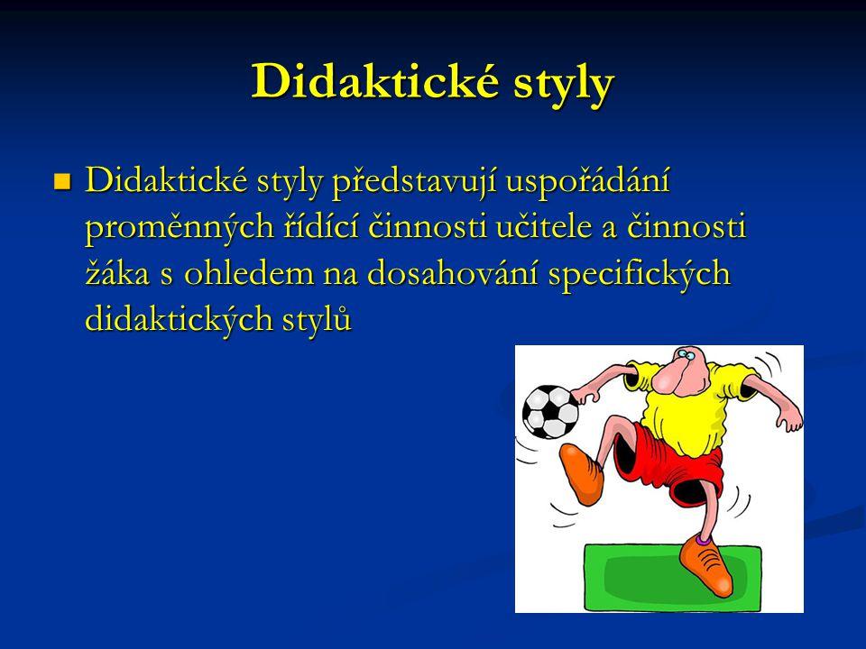 Didaktické styly