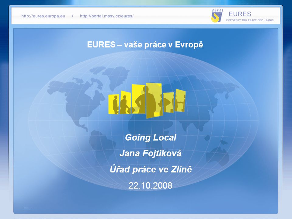 EURES – vaše práce v Evropě