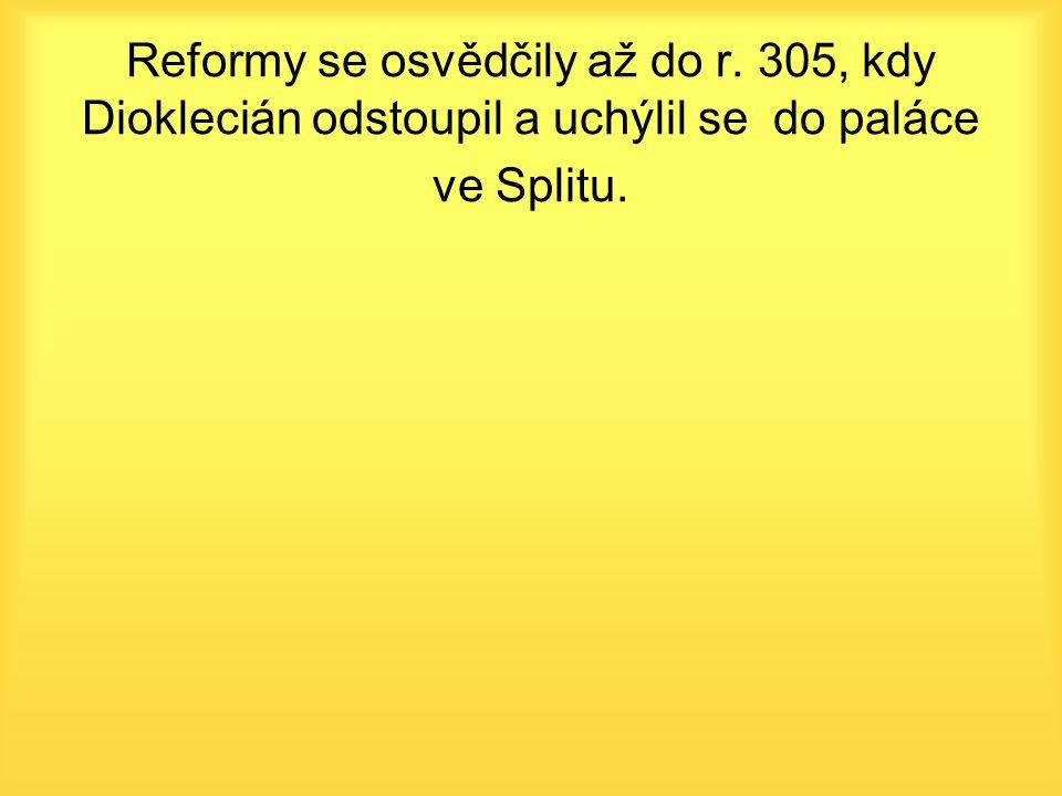 Reformy se osvědčily až do r