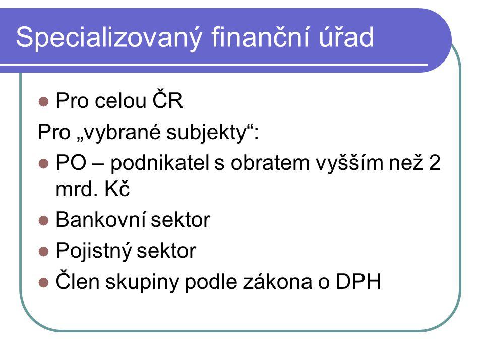 Specializovaný finanční úřad