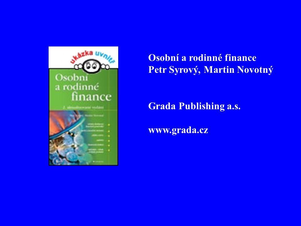 Osobní a rodinné finance