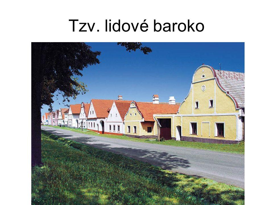 Tzv. lidové baroko