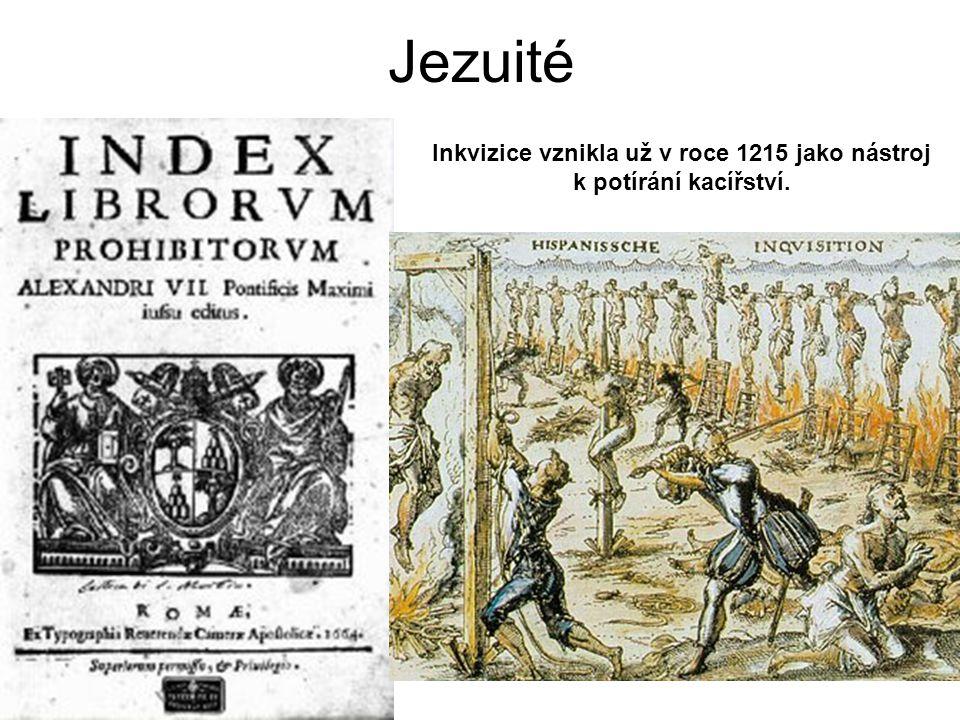 Inkvizice vznikla už v roce 1215 jako nástroj k potírání kacířství.