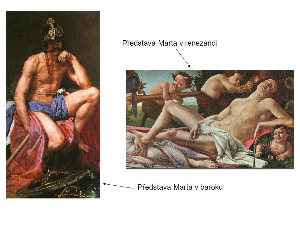 Představa Marta v renezanci