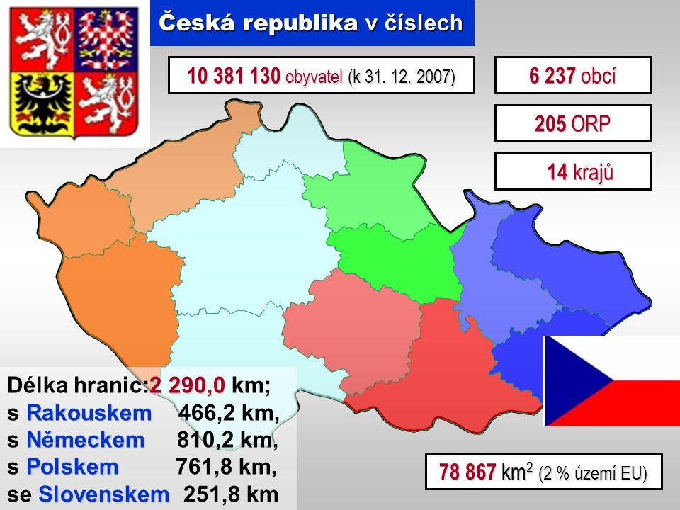 Česká republika v číslech