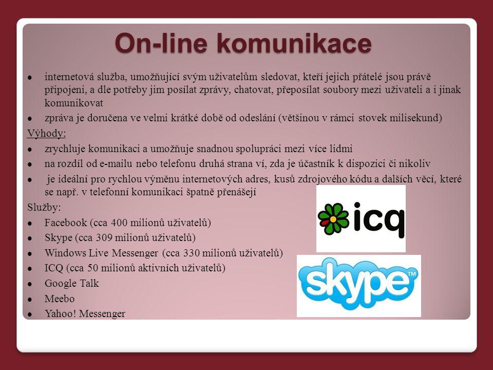 On-line komunikace