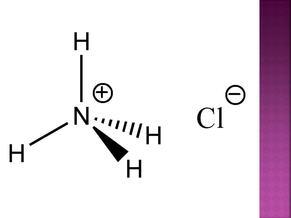 Chlorid amonný zahříváním v pevném stavu netaje, ale přeměňuje se přímo na svoje páry - sublimuje. Proto se používá v dýmovnicích. Dým není dráždivý.