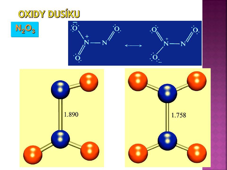 Oxidy dusíku N2O3