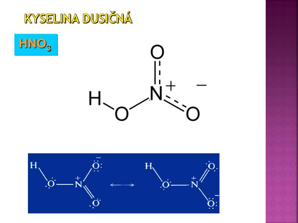 Kyselina dusičná HNO3