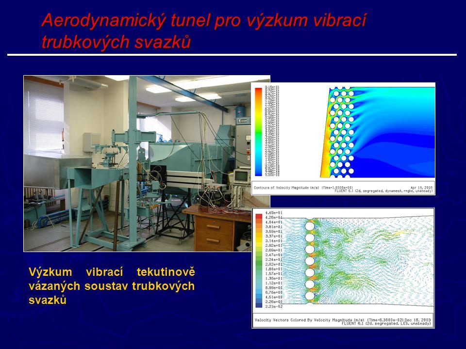 Aerodynamický tunel pro výzkum vibrací trubkových svazků