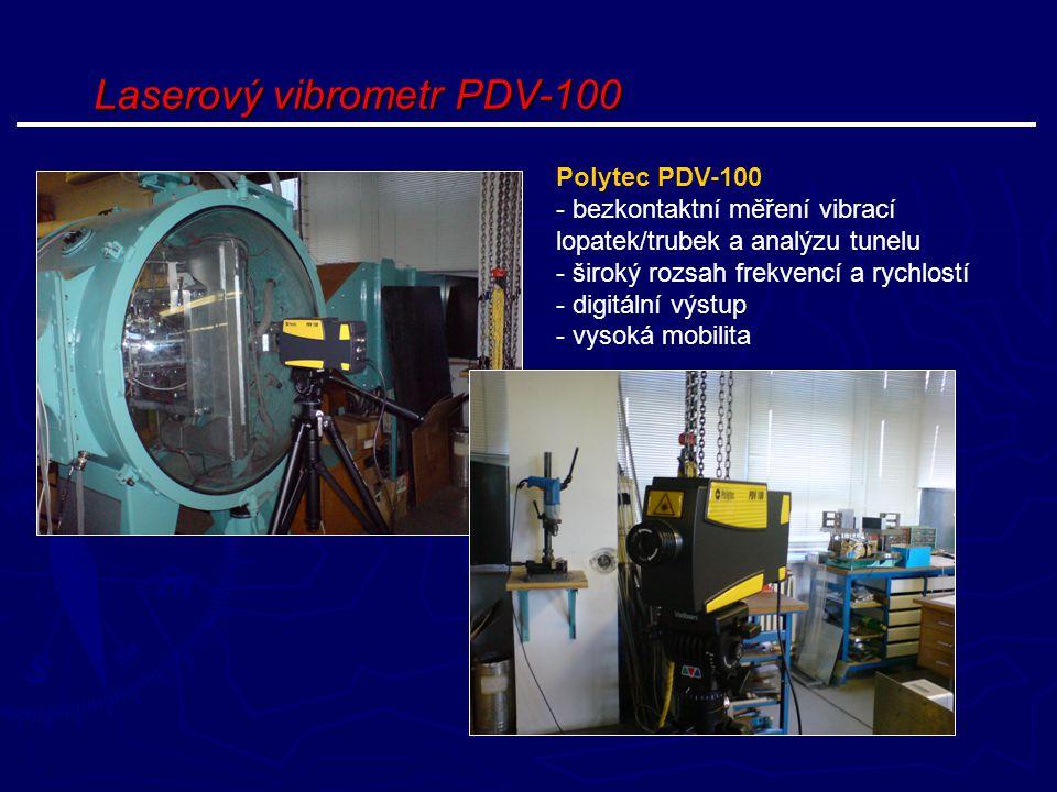 Laserový vibrometr PDV-100