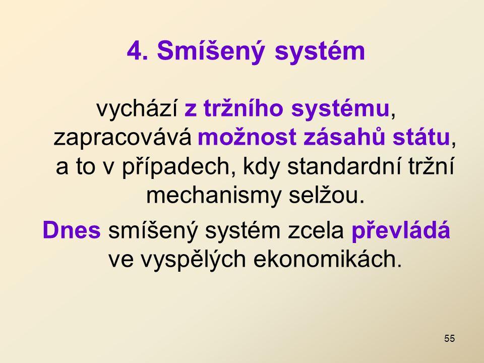 4. Smíšený systém