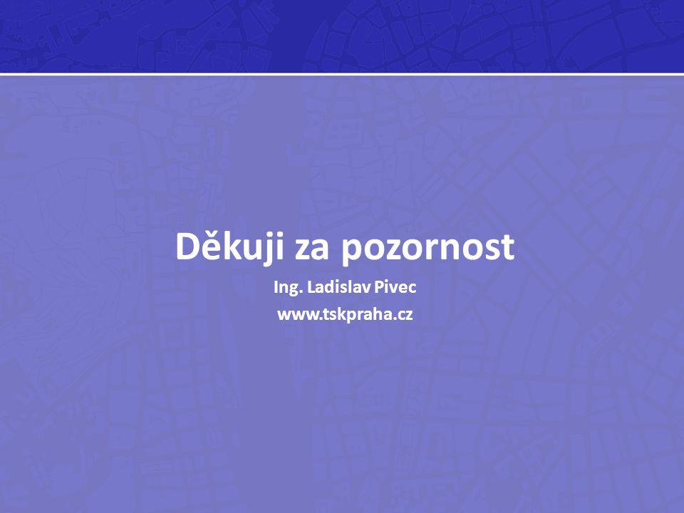 Děkuji za pozornost Ing. Ladislav Pivec www.tskpraha.cz