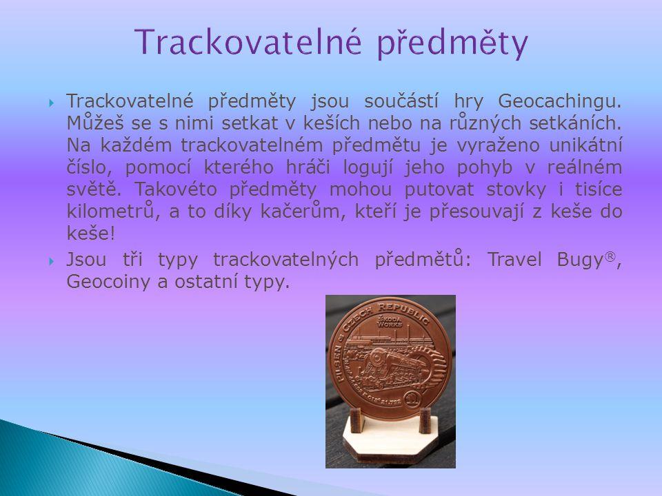 Trackovatelné předměty