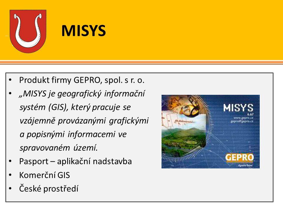 MISYS Produkt firmy GEPRO, spol. s r. o.