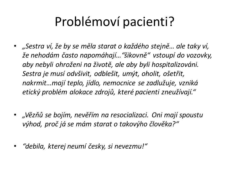 Problémoví pacienti