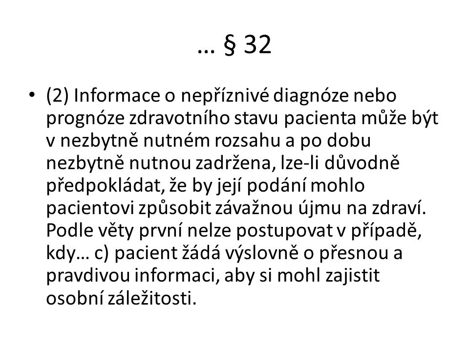 … § 32