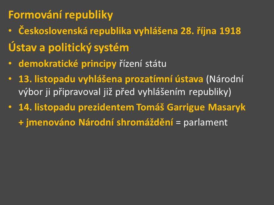 Ústav a politický systém
