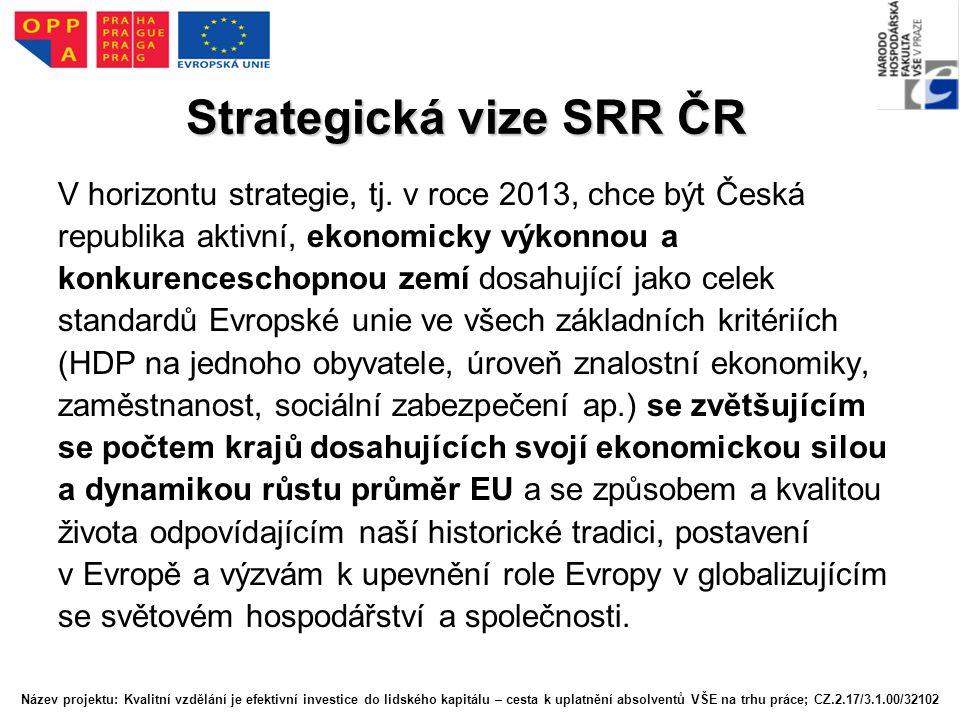 Strategická vize SRR ČR