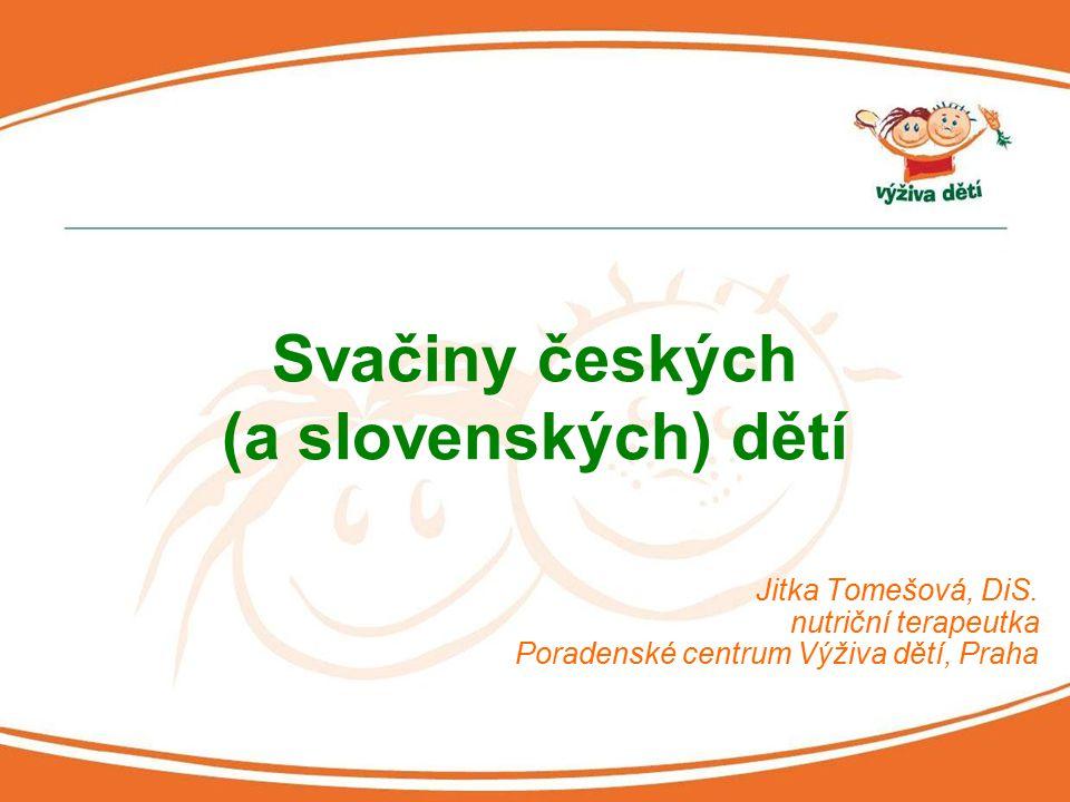 Svačiny českých (a slovenských) dětí