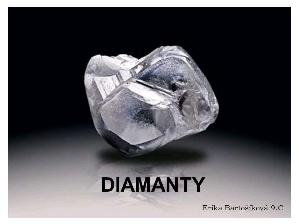 Diamant DIAMANTY Erika Bartošíková 9.C