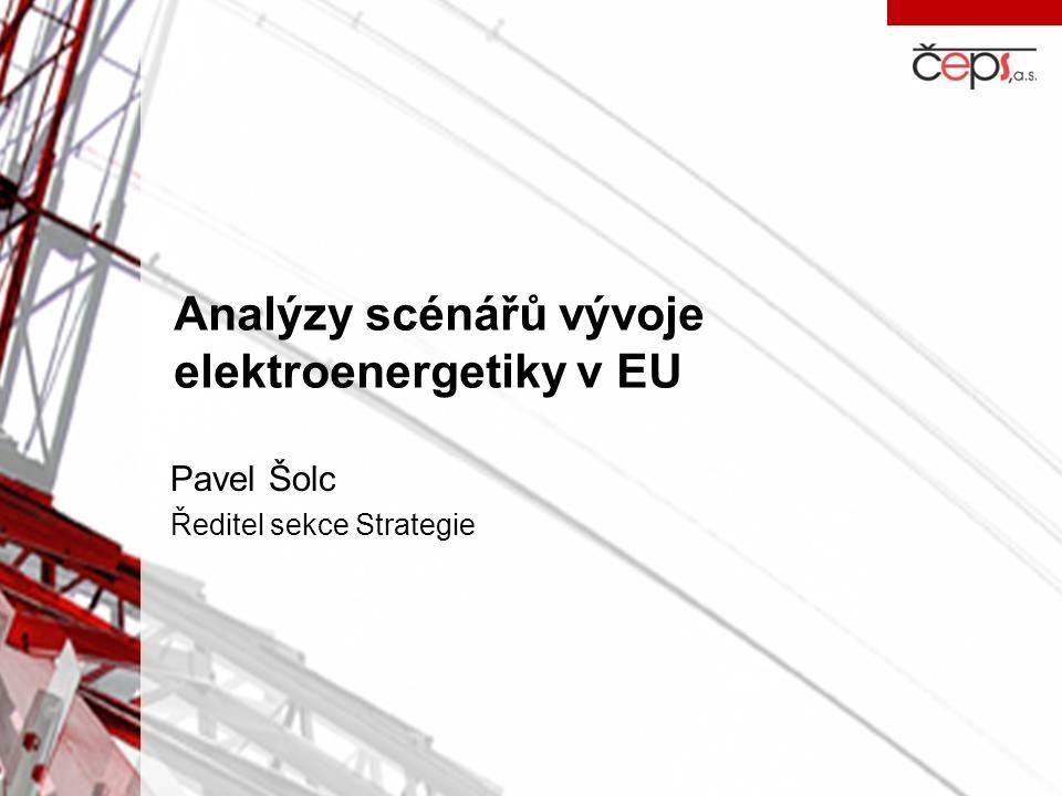 Analýzy scénářů vývoje elektroenergetiky v EU