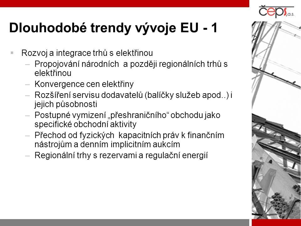 Dlouhodobé trendy vývoje EU - 1