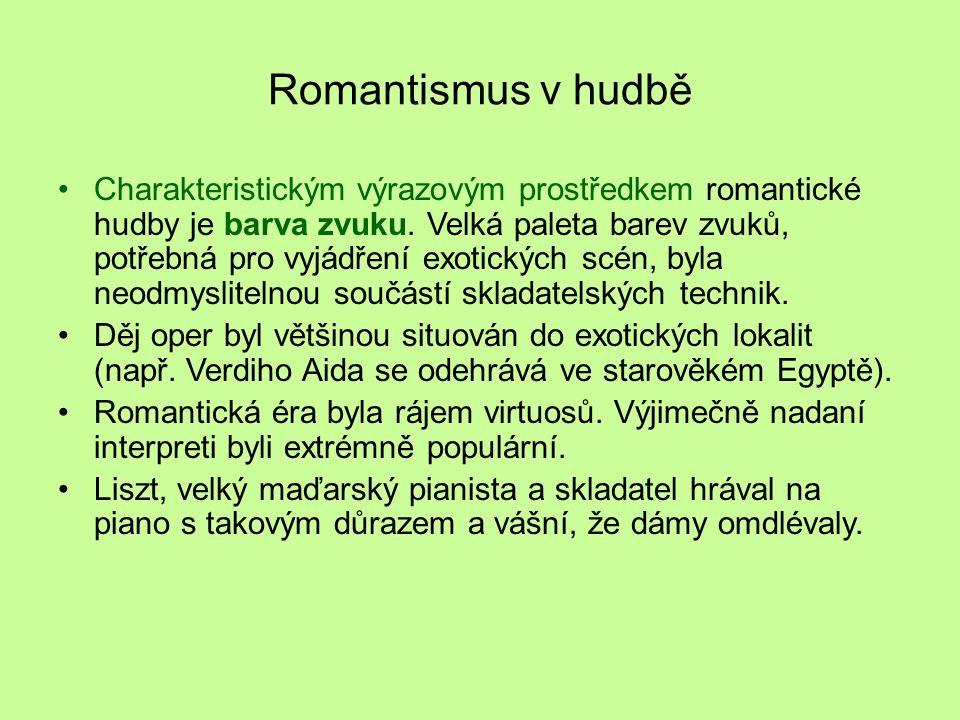 Romantismus v hudbě
