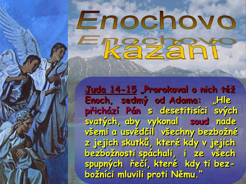 Enochovo kázání.