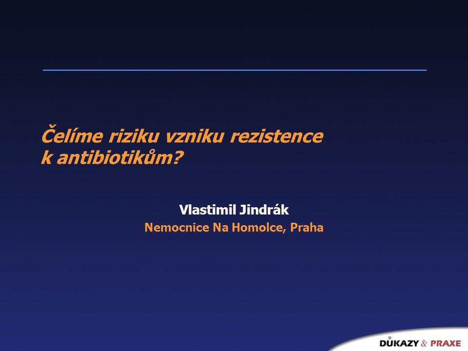 Čelíme riziku vzniku rezistence k antibiotikům